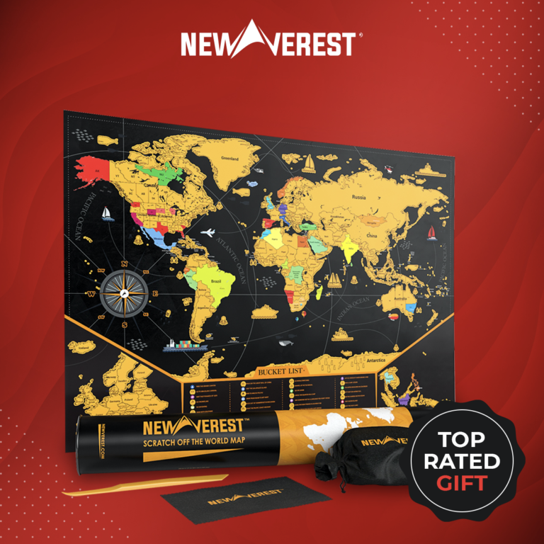 World Scratch Off Map: Plan Tomorrow's Adventure Today